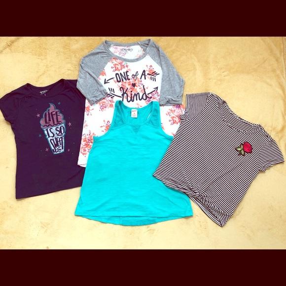 Arizona Jean Company Shirts Tops Bundle 325guc Girls Topsshirts